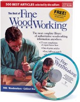 Fine Wood Working product box and a disc